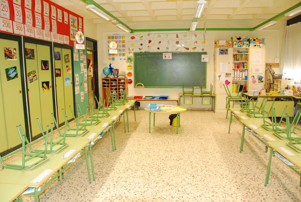 Huelga indefinida en Educación