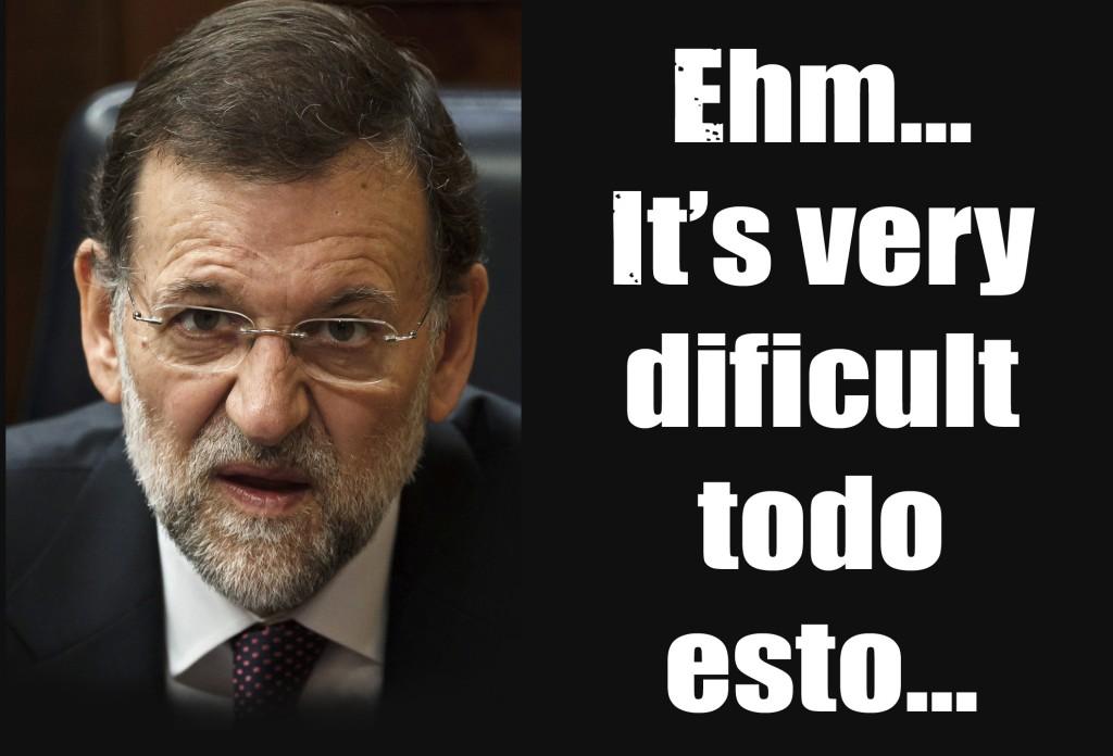 """Rajoy rechaza un curso de inglés porque no está """"en condiciones"""" de aceptarlo"""