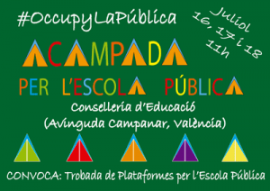Acampada_Conselleria