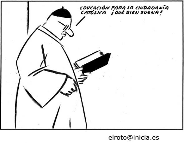 El-Roto-Educación-para-la-ciudadanía-católica