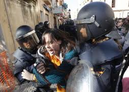 Multas a manifestantes Primavera Valenciana