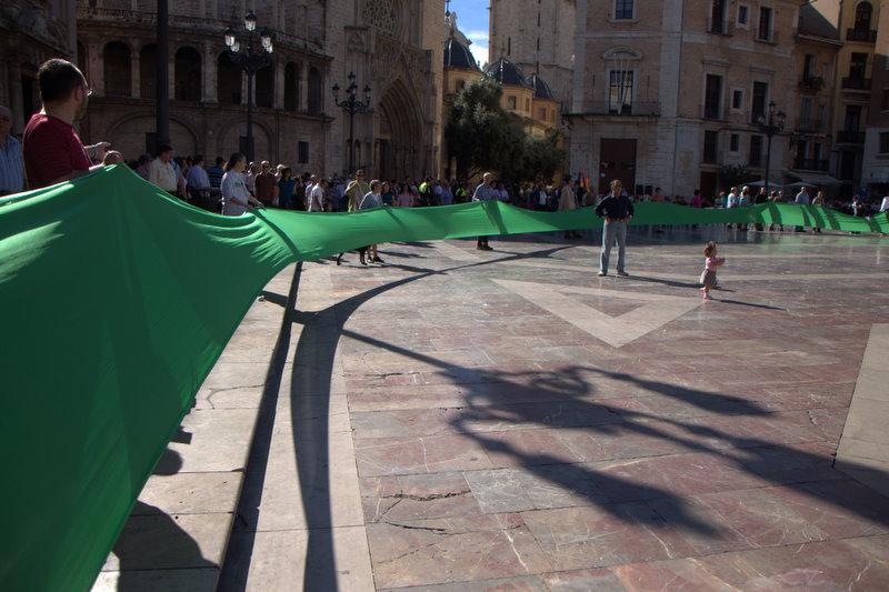 Manifestación en Valencia por la Salud Mental