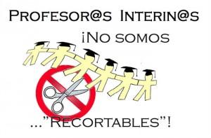 Protesta Interinos Valencia