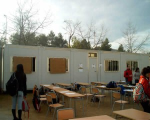 20.000 niños estudiarán en barracones el próximo curso