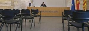 Roda de prensa Císcar RTVV tanca